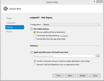 Azure/WAP: System MethodAccessException: Attempt by security